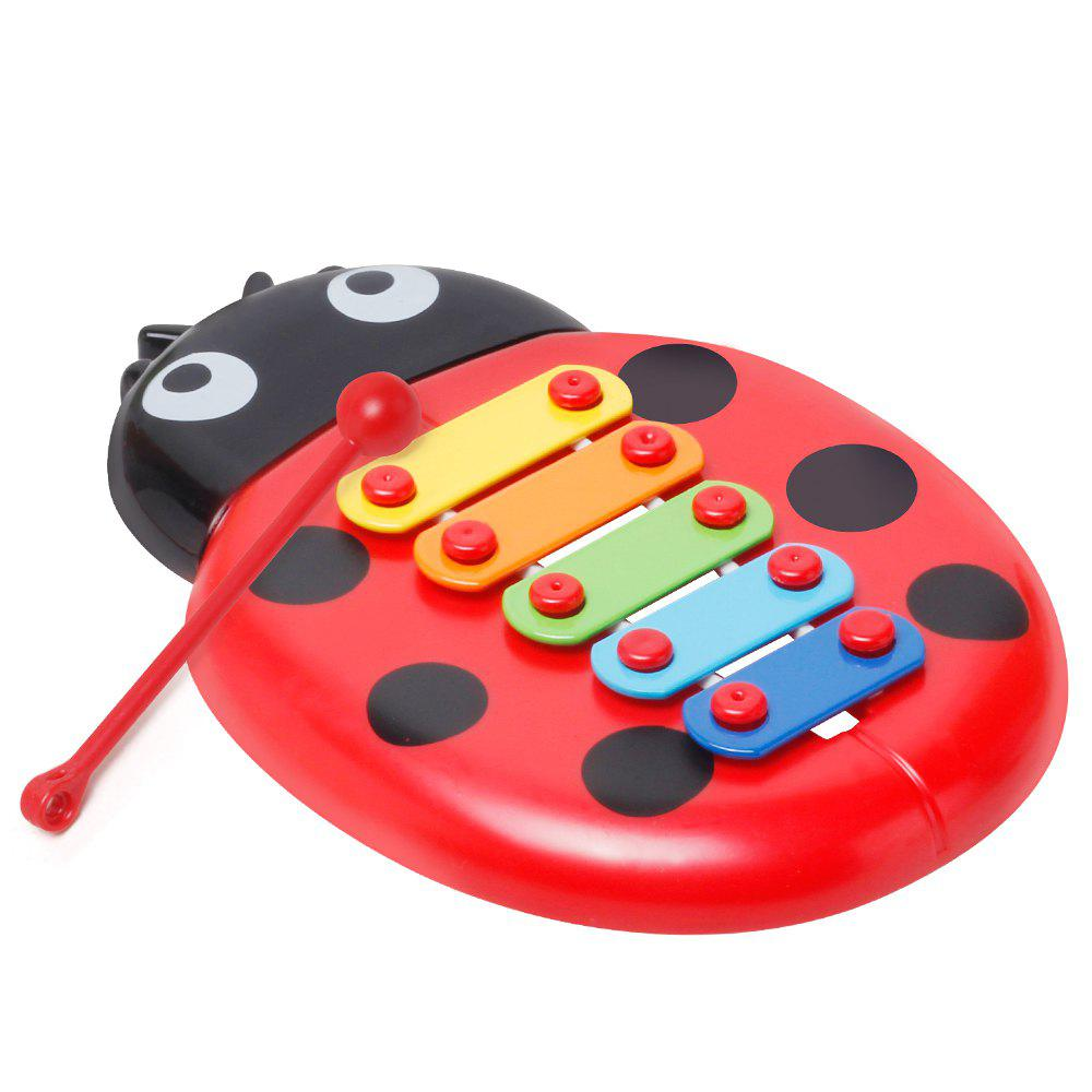 Online Baby Educational Insects Hand Knock Harp Early Childhood Music Eight Children Percussion Toys
