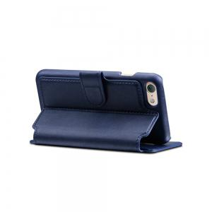 High Quality Cow Leather Wallet Stand Case for iPhone 7 / 8 -