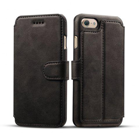 Latest High Quality Cow Leather Wallet Stand Case for iPhone 7 / 8