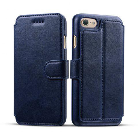 Best High Quality Cow Leather Wallet Stand Case for iPhone 7 / 8