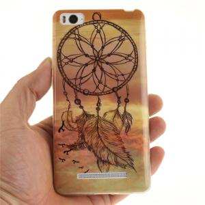 Dreamcatcher Soft Clear IMD TPU Phone Casing Mobile Smartphone Cover Shell Case for Xiaomi Mi4c 4i -