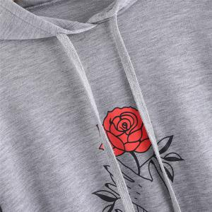 Women's Fashion Large Size Hand Hoodie -