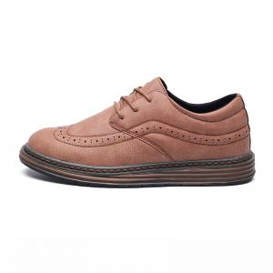 Men's Soft Bottom Casual Leather Shoes -
