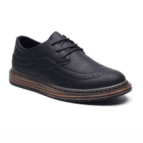Cheap Men's Soft Bottom Casual Leather Shoes
