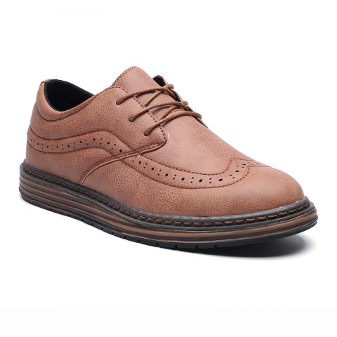 Shop Men's Soft Bottom Casual Leather Shoes