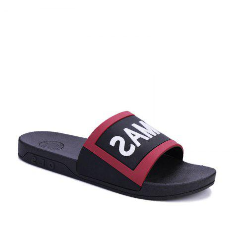 Chic Men's Home Comfort and Anti-skid Slippers