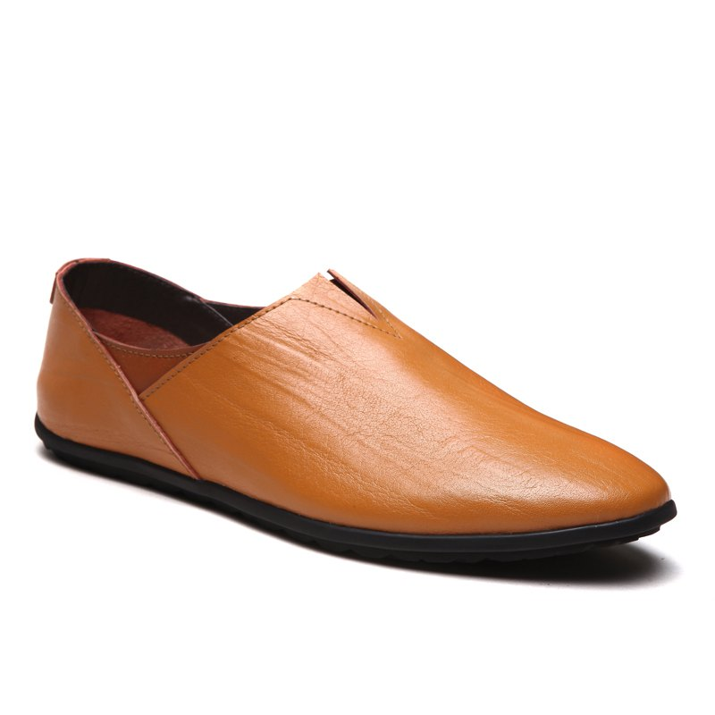 Cheap Hot Style Business Casual Driving Leather Shoes