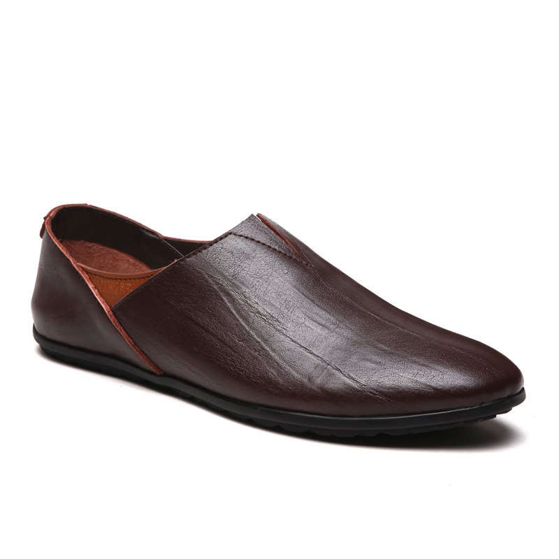 Trendy Hot Style Business Casual Driving Leather Shoes