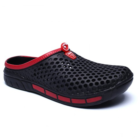 Sale Male Hollow out Breathable Casual Beach Slippers