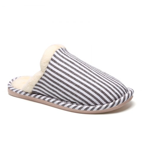 Outfit Men's Houses Striped Cotton Slippers