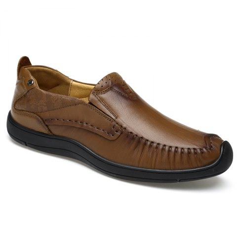 Store Hand Made Slip on Leather Shoes