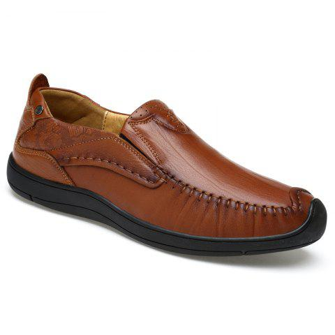 New Hand Made Slip on Leather Shoes