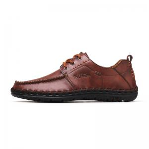 Men New Trend for Fashion Lace Up Leather Casual Shoes -
