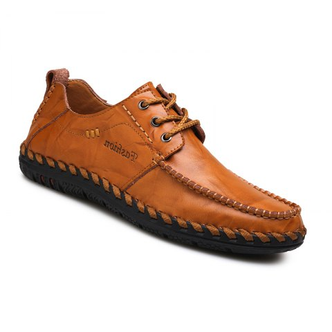 Buy Men New Trend for Fashion Lace Up Leather Casual Shoes