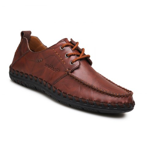Affordable Men New Trend for Fashion Lace Up Leather Casual Shoes