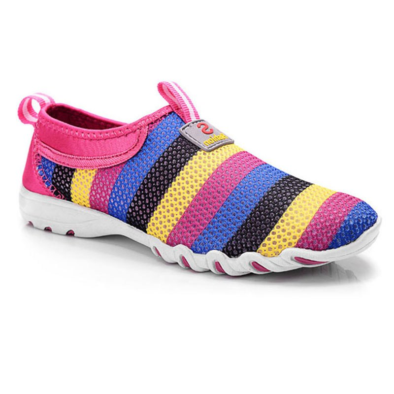 Affordable The Net Breathes Seven Colorful Women's Shoes