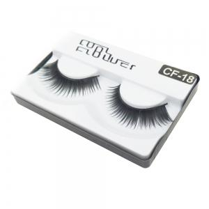 1 Pair The Thick Black Eye end Spin False Eyelashes -