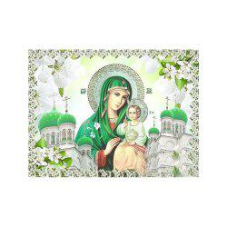 Naiyue 9584 Green Religion Print Draw Diamond Drawing -