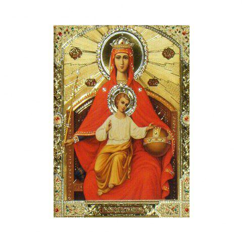 Buy Naiyue 9693 Religious Print Draw Diamond Drawing