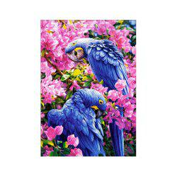 Naiyue X036 Two Parrots Print Draw Diamond Drawing -