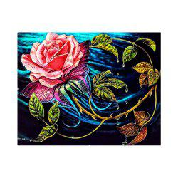 Naiyue S059 Water Flowers Print Draw Diamond Drawing -