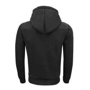 Men 'S Spring and Autumn Fashion Casual Outdoor Sports Hooded Solid Embroidered Long Sleeve Hoodie -