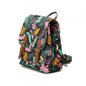 Backpack For Girls Fashion Feather Print Waterproof Backpack -