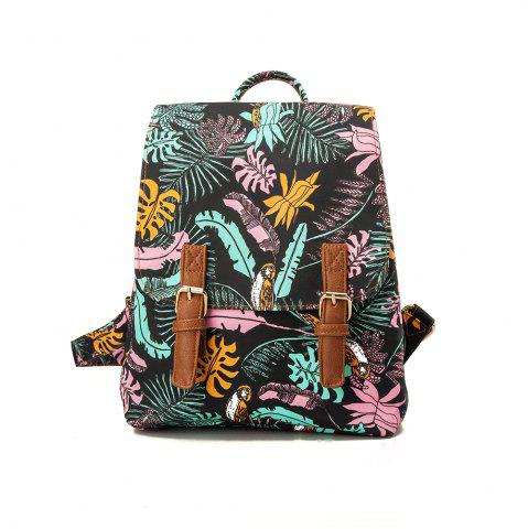 Shops Backpack For Girls Fashion Feather Print Waterproof Backpack