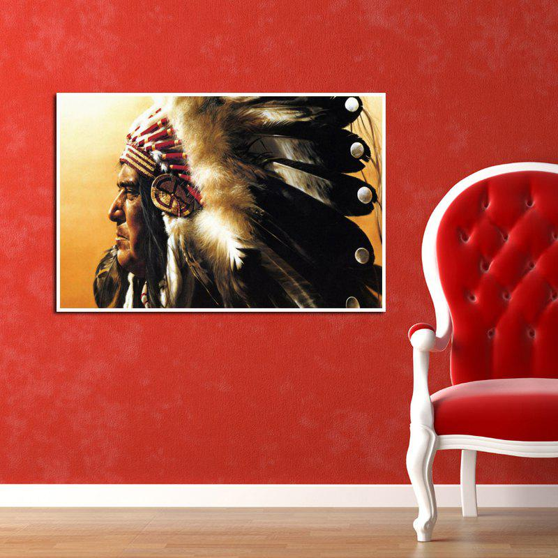 b679e9e9dc1 2019 Modern Canvas Art Print Of American Indian Home Wall Decoration ...