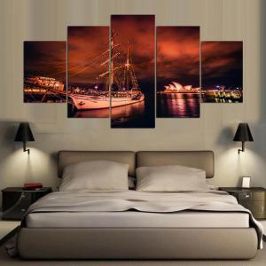 YSDAFEN 5 Piece Canvas Wall Art Prints Wall Art Pictures Decoration for Home -
