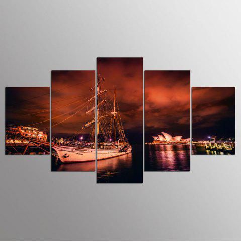 Affordable YSDAFEN 5 Piece Canvas Wall Art Prints Wall Art Pictures Decoration for Home