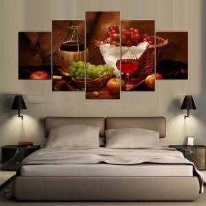 YSDAFEN 5 Piece HD Printed Wall Pictures for Living Room Canvas Painting -
