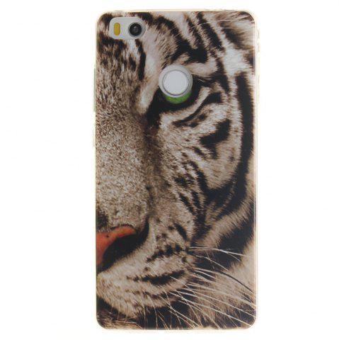 Outfit The Tiger Pattern oft Clear IMD TPU Phone Casing Mobile Smartphone Cover Shell Case for Xiaomi Mi4S
