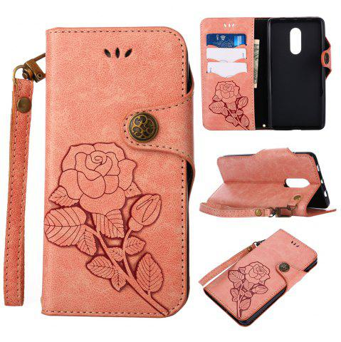 Store Retro PU Leather Magnetic Closure Flip Wallet Protective Case with Lanyard for Xiaomi Redmi Note 4 / 4X