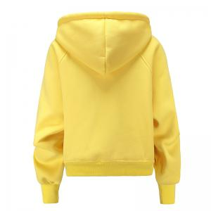 Women's Fashion Large Size Loose Long-Sleeved Plus Cashmere Hoodies -