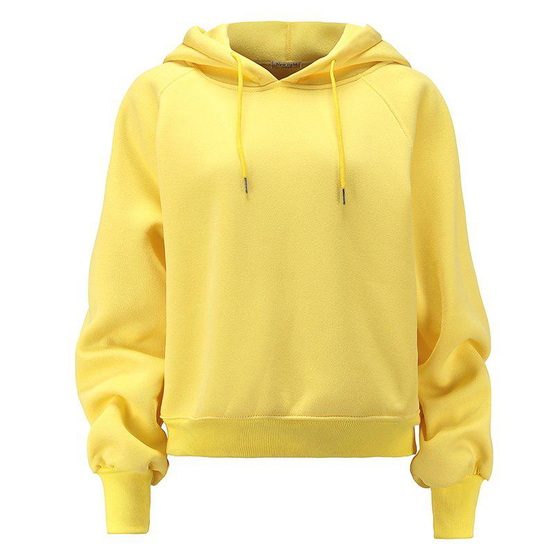 Outfit Women's Fashion Large Size Loose Long-Sleeved Plus Cashmere Hoodies