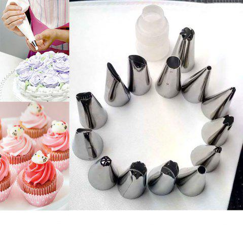 Sale 16 Piece Deluxe Cake Decorating Set  Decoration Tips