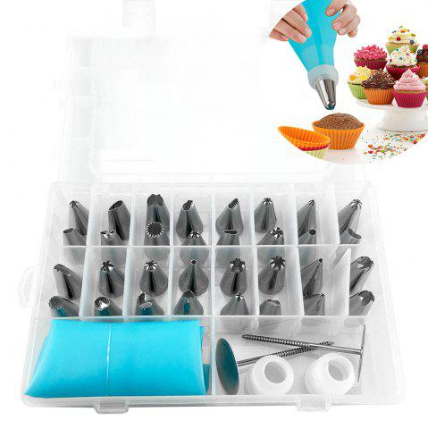Online Cake Decoratinge Decorating Stainless Steel Pastry Piping Nozzle Set
