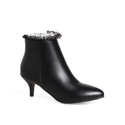 Affordable Thin Sexy Lace Fashion Bare Boots