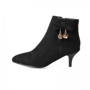 Thin Sweet Butterfly Naked Boots -