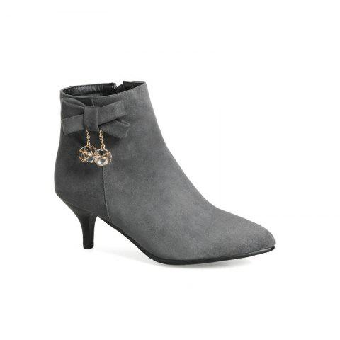 Store Thin Sweet Butterfly Naked Boots