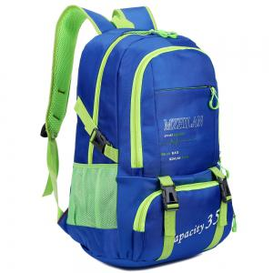 Men women Outdoor Mountaineering Travel Backpack Largecapacity Casual Sports Student Bag -