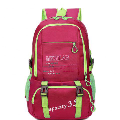 Shop Men women Outdoor Mountaineering Travel Backpack Largecapacity Casual Sports Student Bag