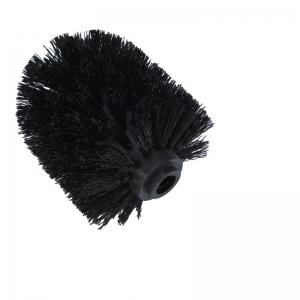 Plastic Bathroom Replacement Toilet Brush head WC Cleaning Accessory Bathroom Cleaning Black -