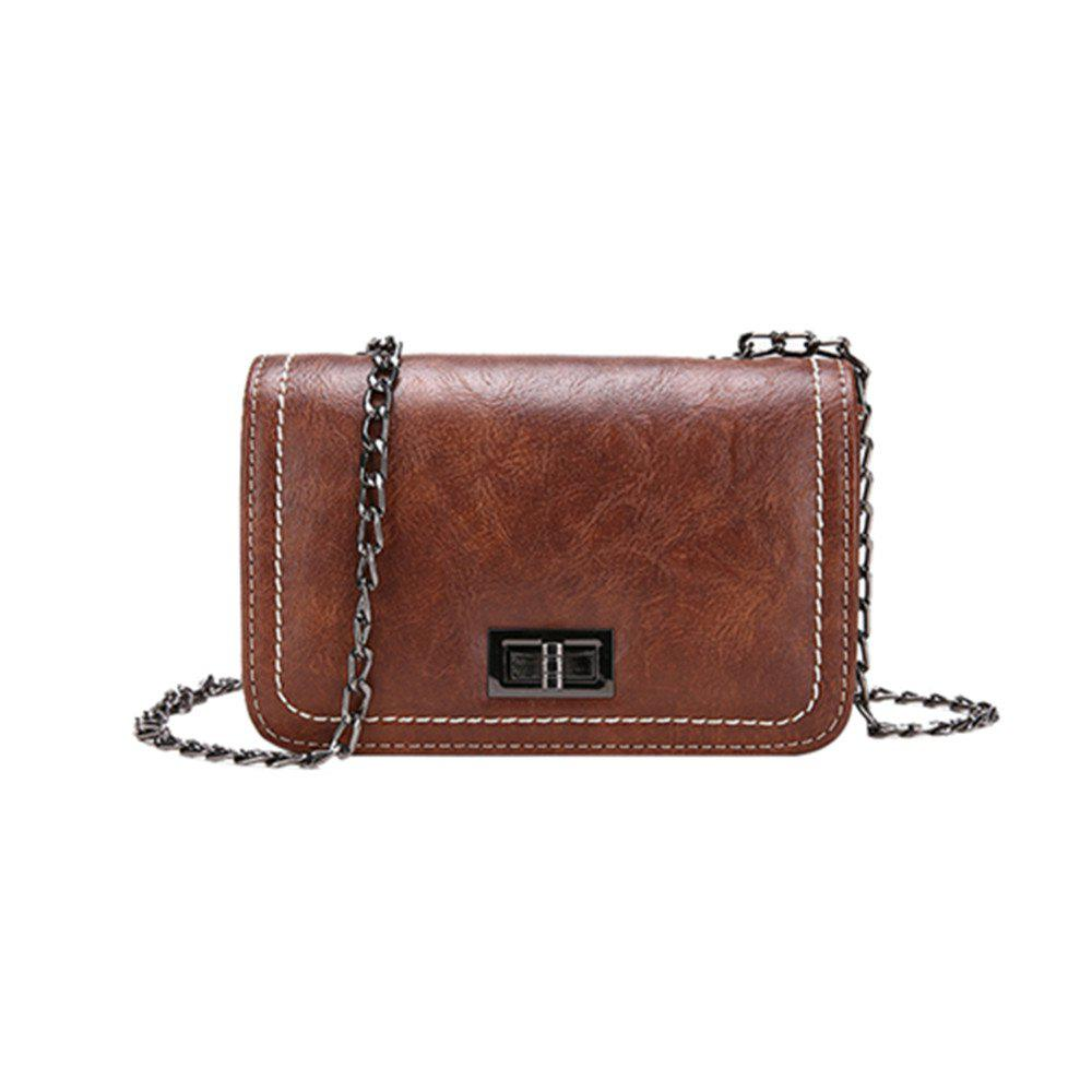 Fashion Simple Atmospheric Chain Square Messenger Bag
