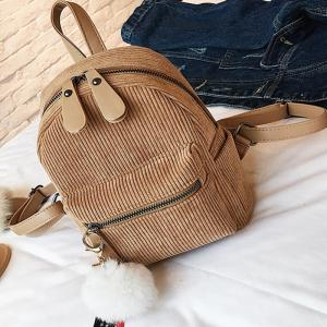 New Casual Corduroy Backpack -