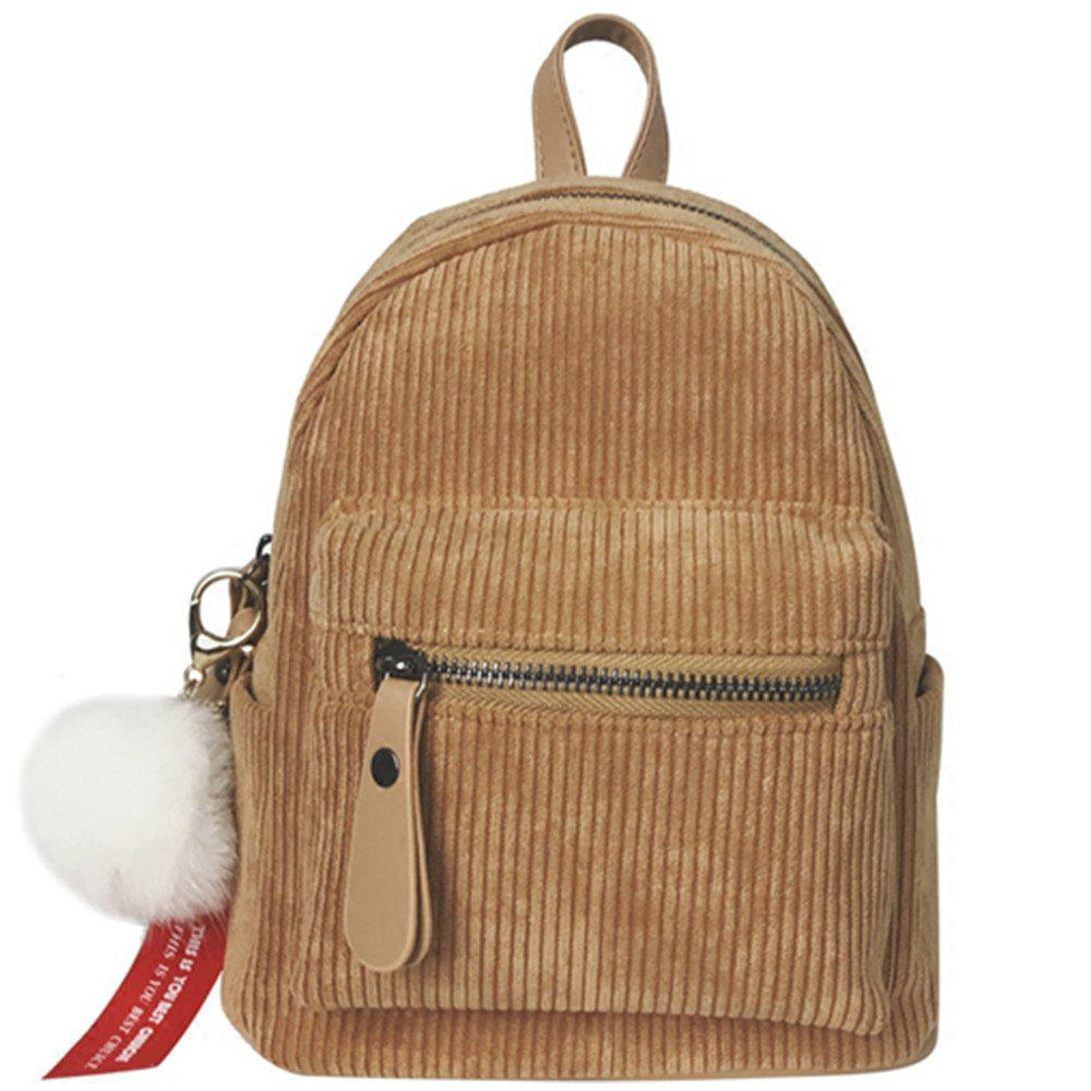 Chic New Casual Corduroy Backpack