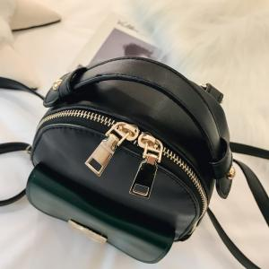 The Double Shoulder Bag Female Knapsack in The New Style of The New Fashion The Women's Single Shoulder Double Back -