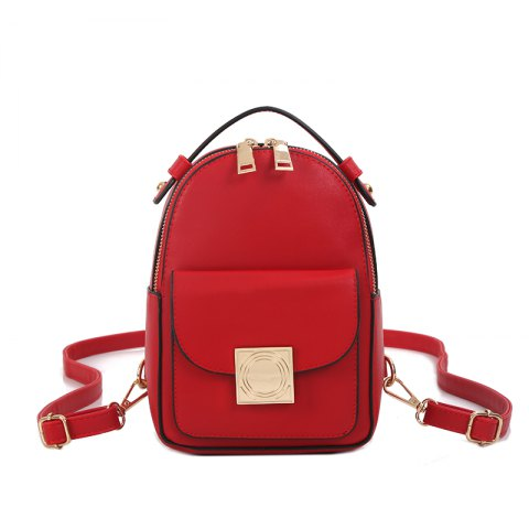 Online The Double Shoulder Bag Female Knapsack in The New Style of The New Fashion The Women's Single Shoulder Double Back