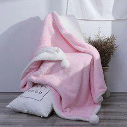 The Four-Horned Rabbit Hair Ball Decorated With Super Soft Lamb Blanket -